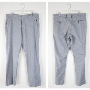 J. Crew Light Gray Bowery Dress Pants Trousers